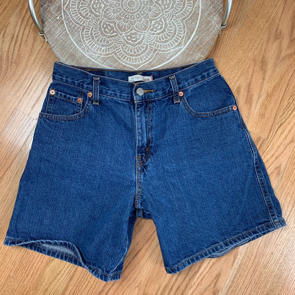 Levi s 550 Relaxed Fit Denim Shorts  e9cd14115f