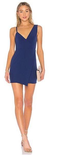 NBD Indigo Blue Dress