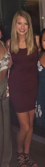 Pitaya Casual burgundy dress