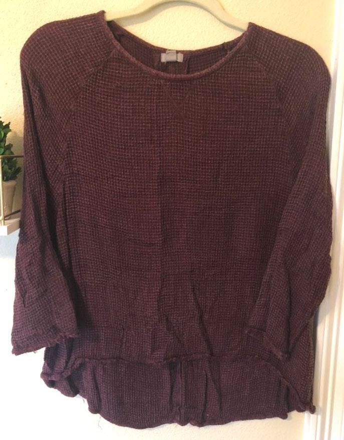 Ecote Maroon Sweater