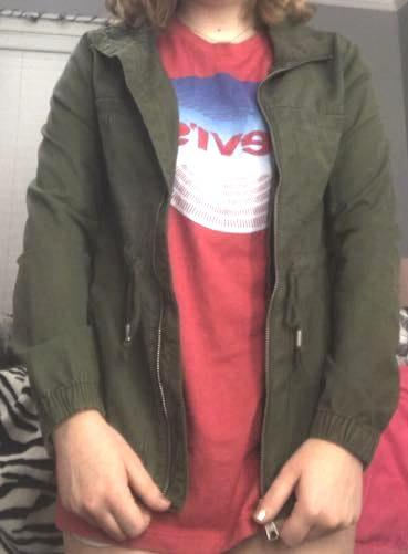 Old Navy green army jacket