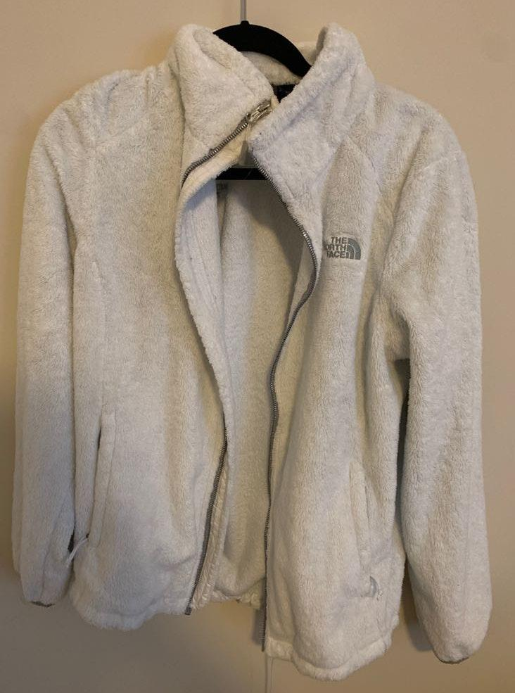 The North Face White North Face Fleece