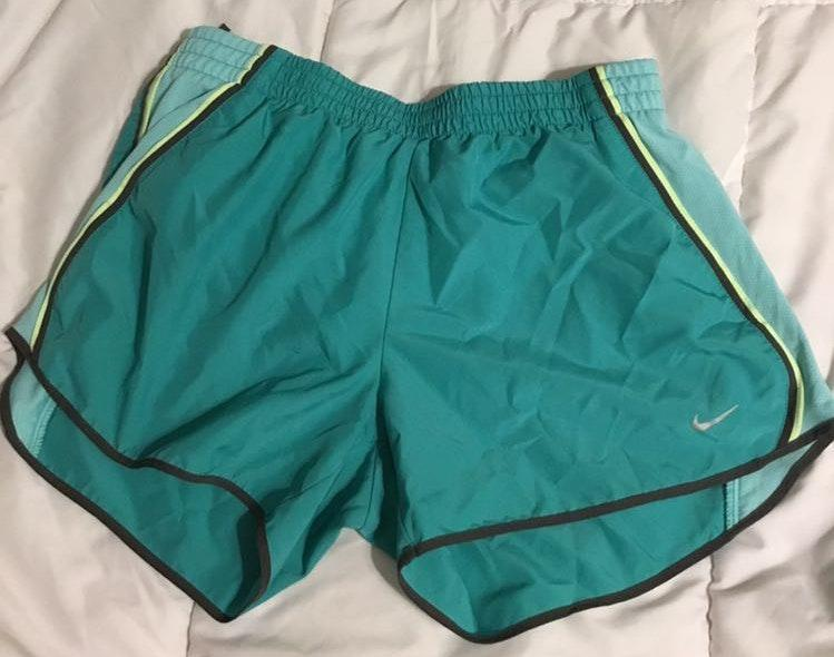 Nike Teal Running Shorts