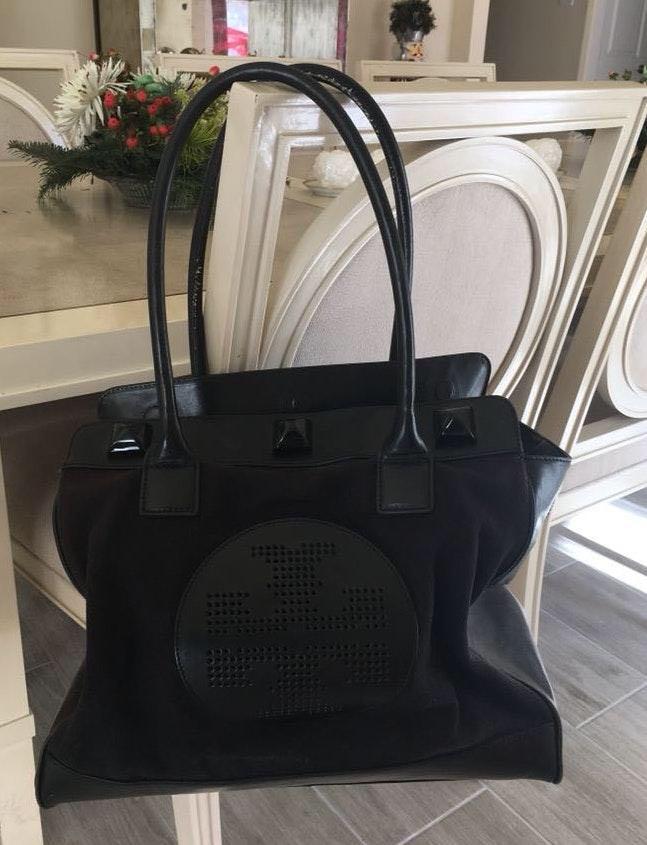 Tory Burch Large Black  Handbag