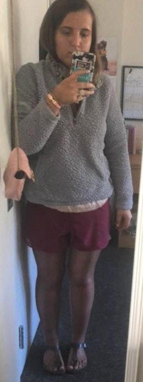 Grey Fuzzy Sweatshirt