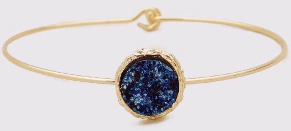 Anna Jane Goods Galaxy Druzy Bracelet