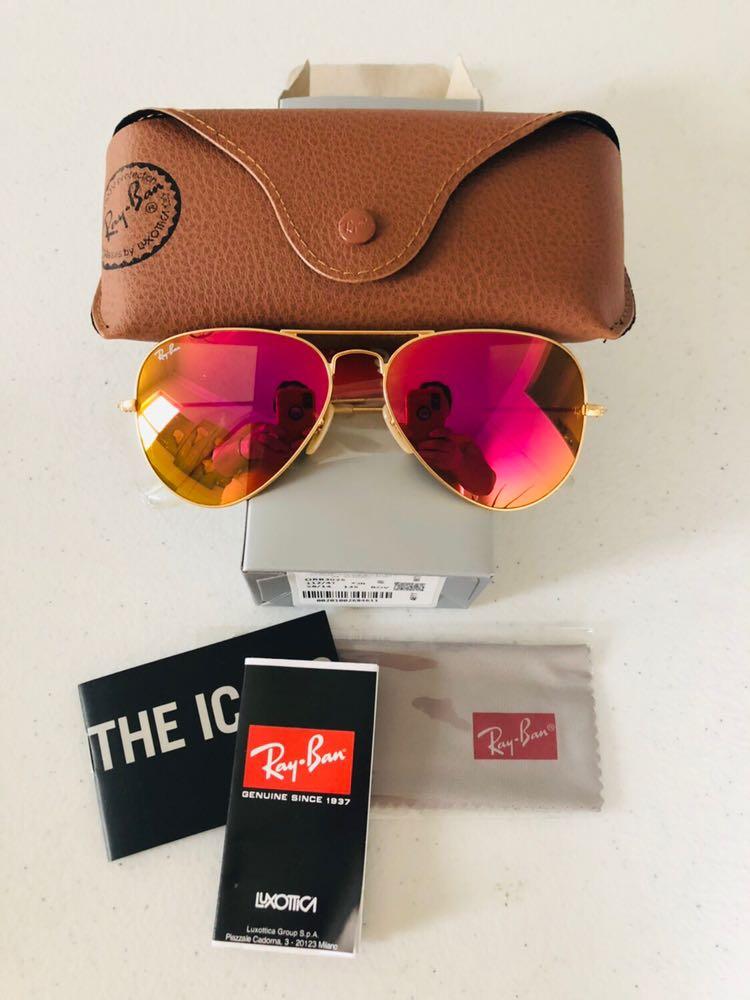 e2c5bf4426b99d Ray-Ban New Rayban Sunglasses Pink Size 58mm