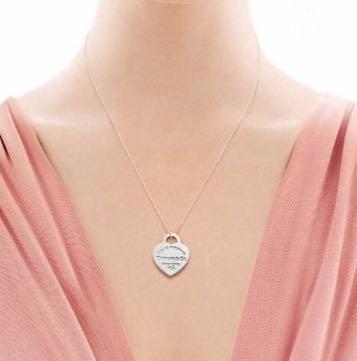 Tiffany & Co. Heart Neckalace