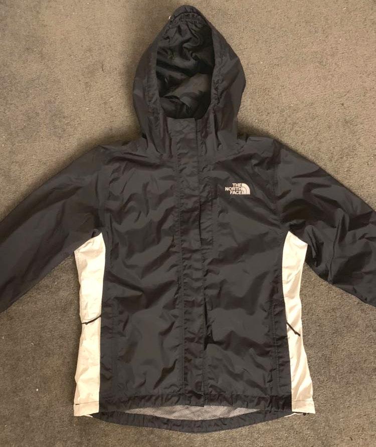 The North Face Black/white Rain Jacket