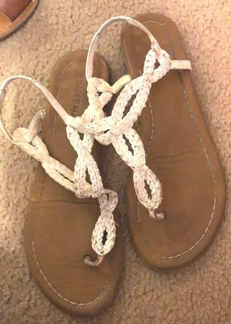 X-Appeal White Sandals