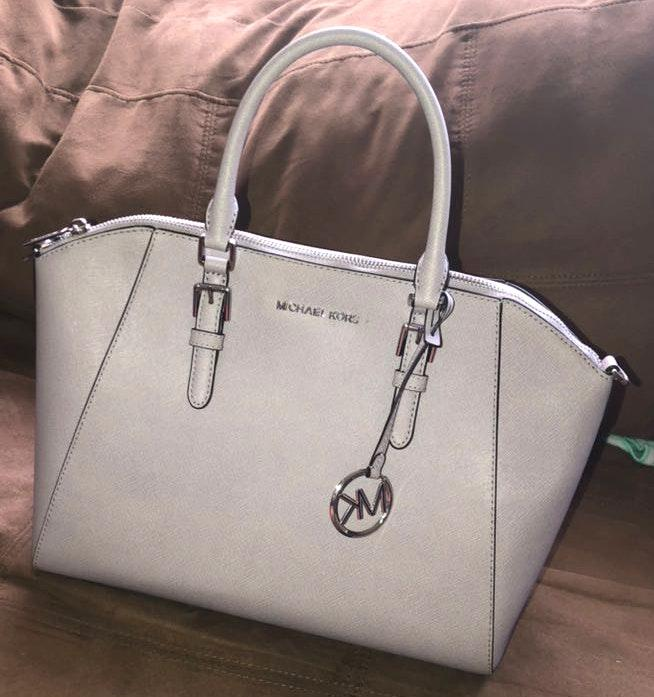 Michael Kors Large Saffiano Satchel