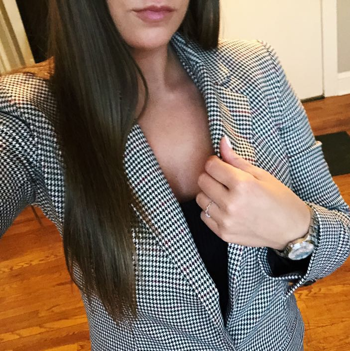 A New Day Patterned Blazer