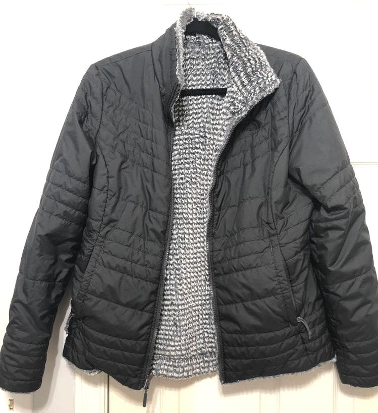 The North Face black reversible jacket