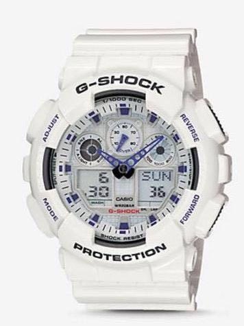 G Shock white!!