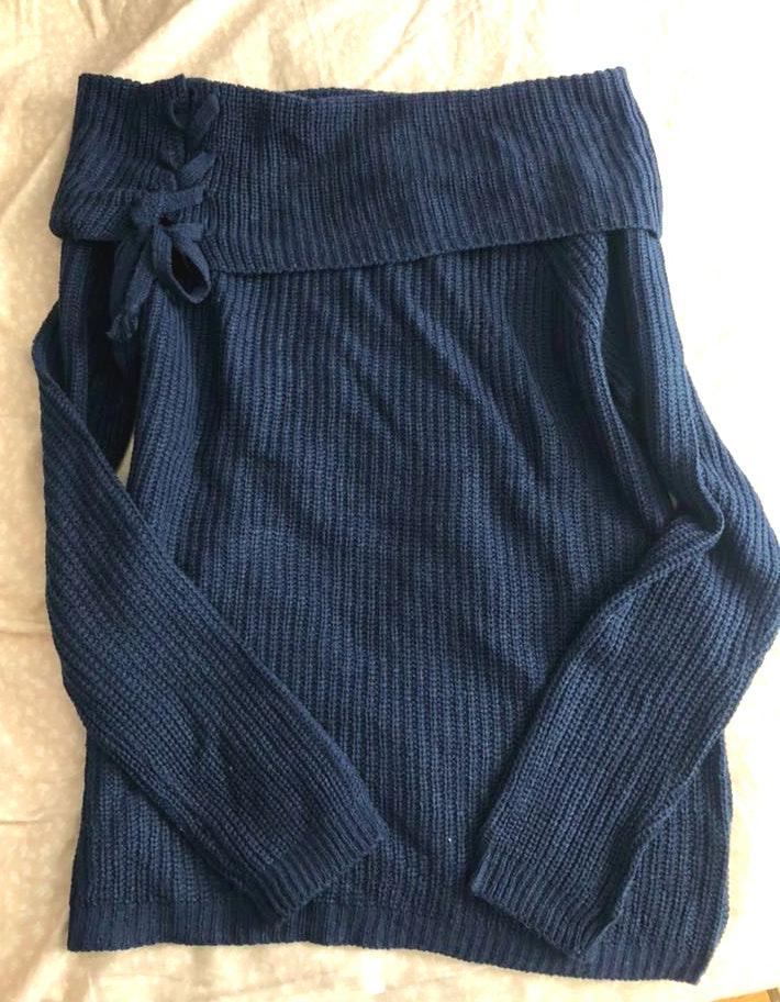 Fashion Nova Off The Shoulder Sweater/long Sleeve