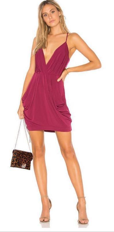 BCBG Draped dress