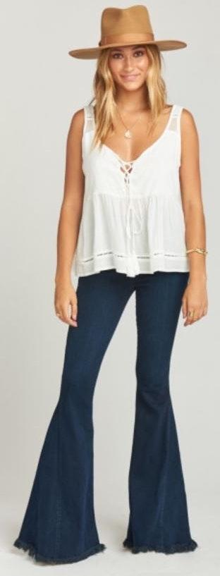 Show Me Your Mumu Flare Jeans