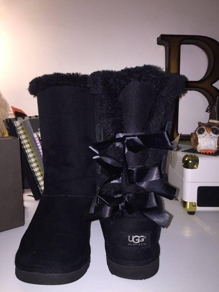 26ee87189d41 We re the buy sell app for cute clothes. Say to being bored of your  clothes. Home Ugg Bailey Bow Tall Ii