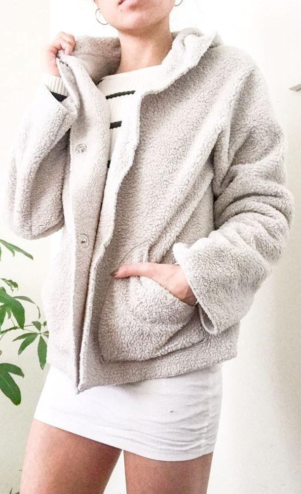 CAbi Super Soft Teddy Coat