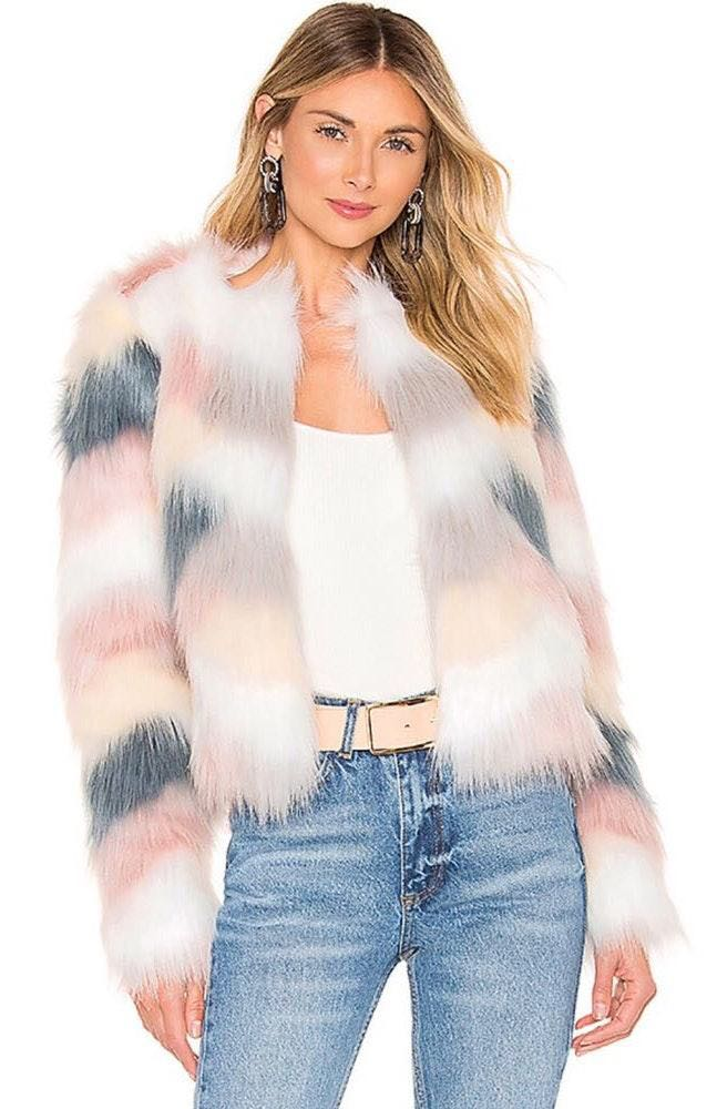 by the way. Revolve Faux Fur Jacket