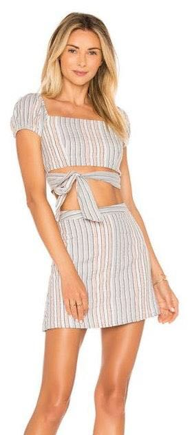 Ale By Alessandra X Revolve Hollie Top And Salome Skirt Set