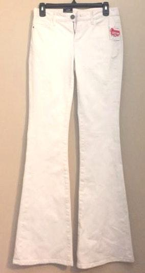 treasure & bond white flare jeans
