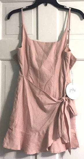 Princess Polly Pink Wrap Dress