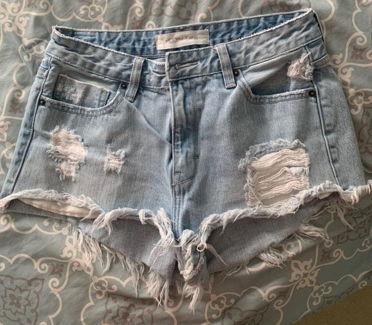 Hidden Jean Shorts
