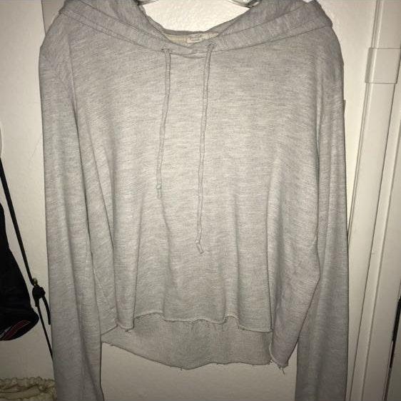 Pacsun Grey Lounge Sweatshirt Hoodie