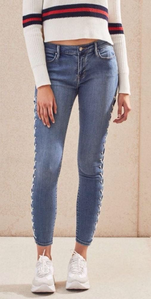 Pacsun Lace-up Ankle Jegging